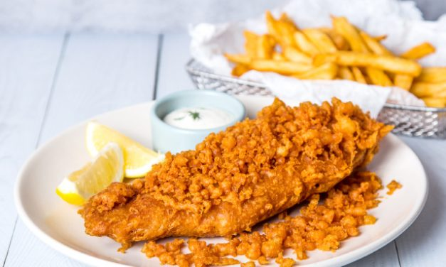 Looking for Singapore's best fish and chips? Try Captain Snapper's fish and chips at habitat by honestbee