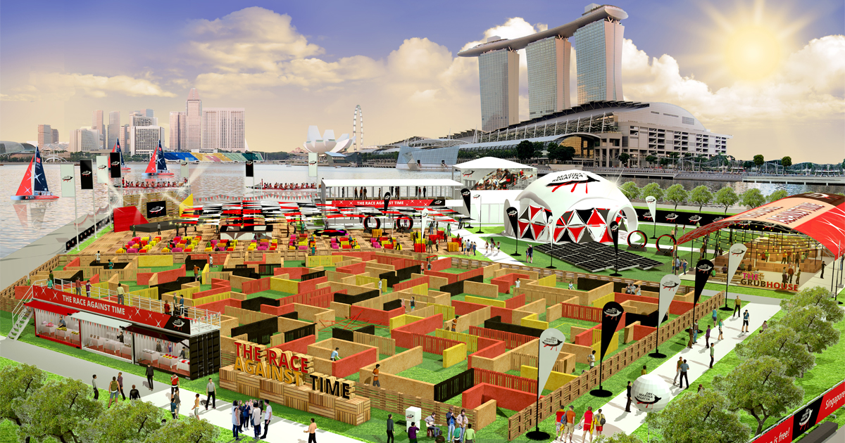 DBS Marina Regatta returns: Bringing largest eco-maze race to save the planet - Alvinology