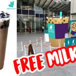 Milk tea cravings? Claim your FREE Gong Cha Bubble Tea this 30 April at One Raffles Place!