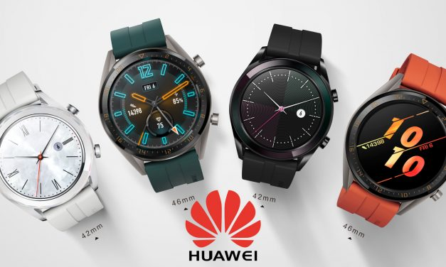 HUAWEI Watch GT – 2-week battery life, fitness and wellness tracking, and new Active and Elegant variants