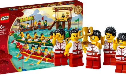 Attention LEGO fans: The new LEGO Dragon Boat Race Set is coming 1st May