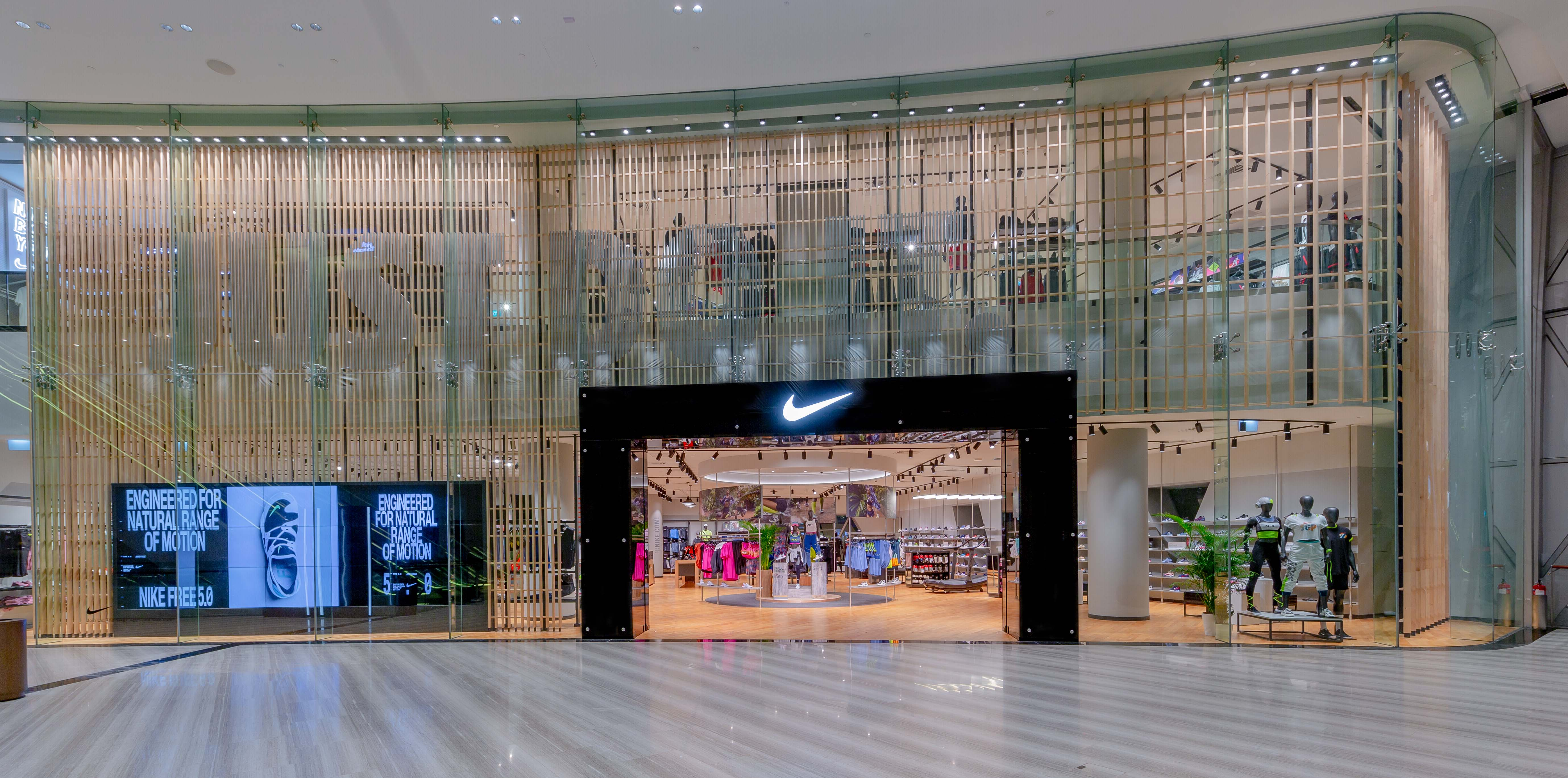 Nike Jewel - the largest Nike Store in Southeast Asia and India opens at Jewel Changi Airport - Alvinology
