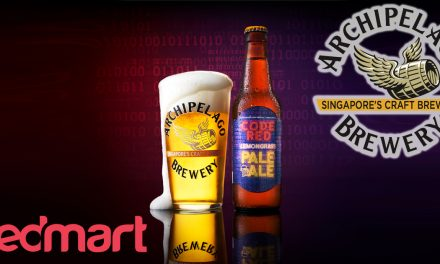 Party without hitting the store! You can now order CODE RED Lemongrass Pale Ale Beer on RedMart