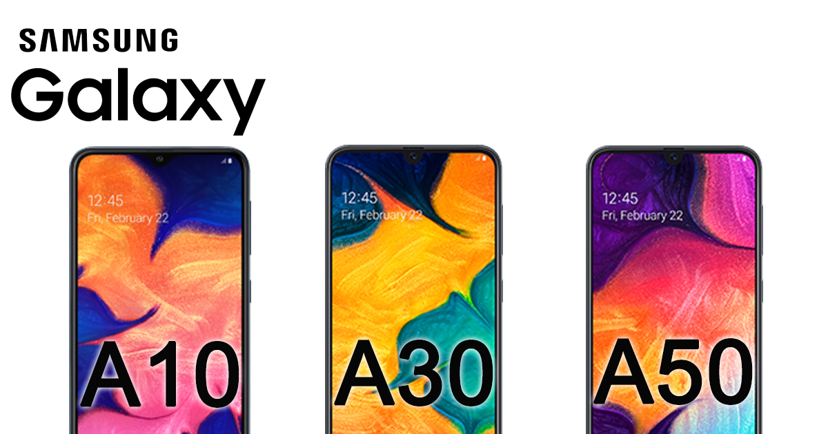 Samsung Galaxy A10, A30, and A50 are now available in Singapore [see specs and price here]