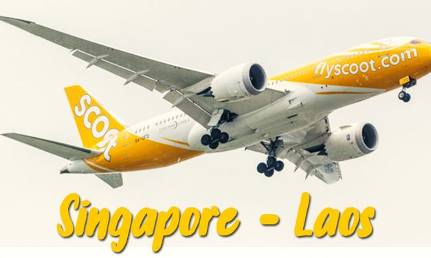 Scoot commences three-times weekly services from Singapore to Laos