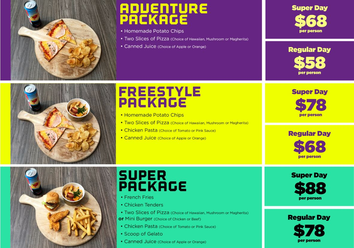 Have your next party at Superpark from $60 - Alvinology
