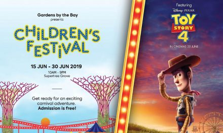 Toy Story 4 is coming to Gardens by the Bay to celebrate Children's Festival 2019