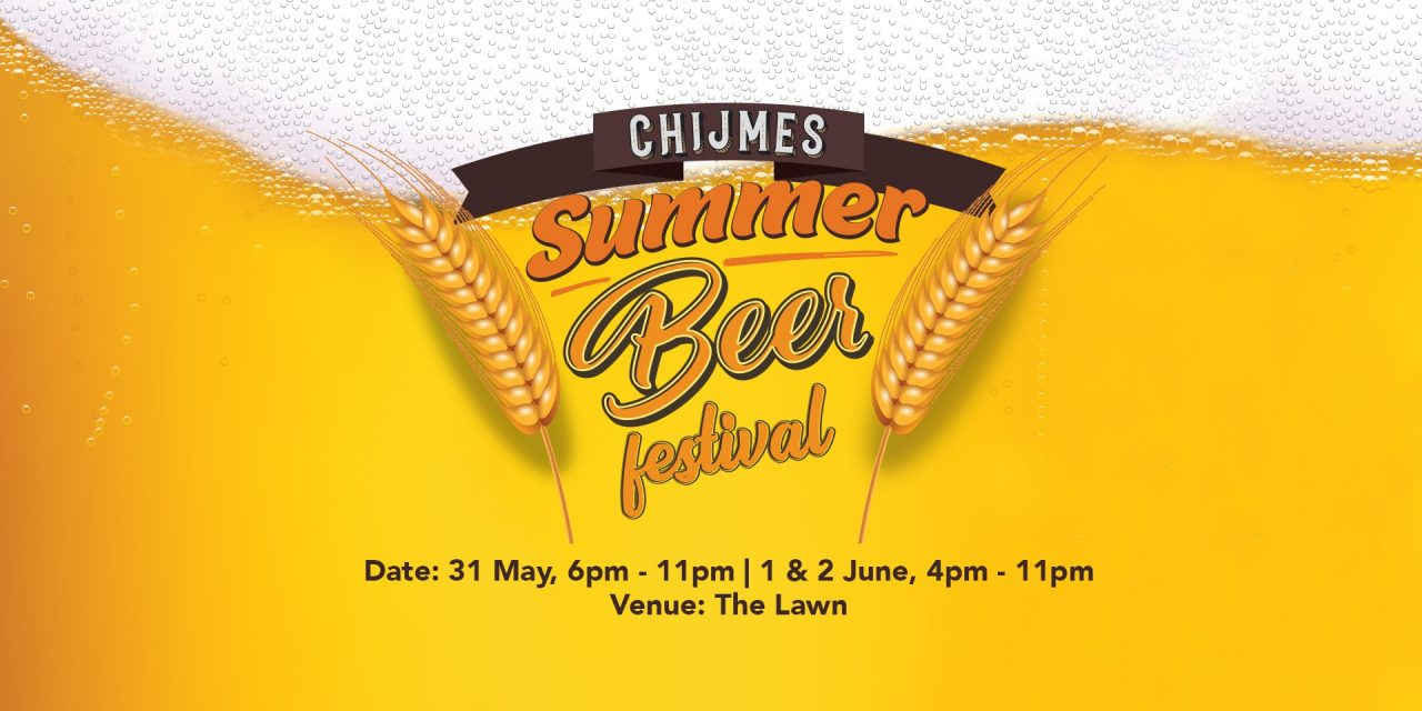 Raise your glasses for the CHIJMES Summer Beer Festival