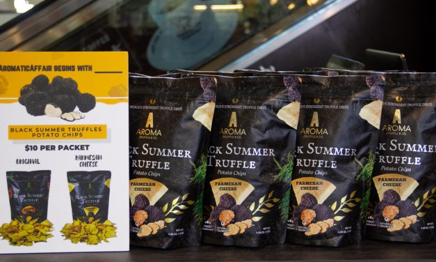 Aroma Truffle – Singapore's first truffle chips boutique arrives at Chinatown point