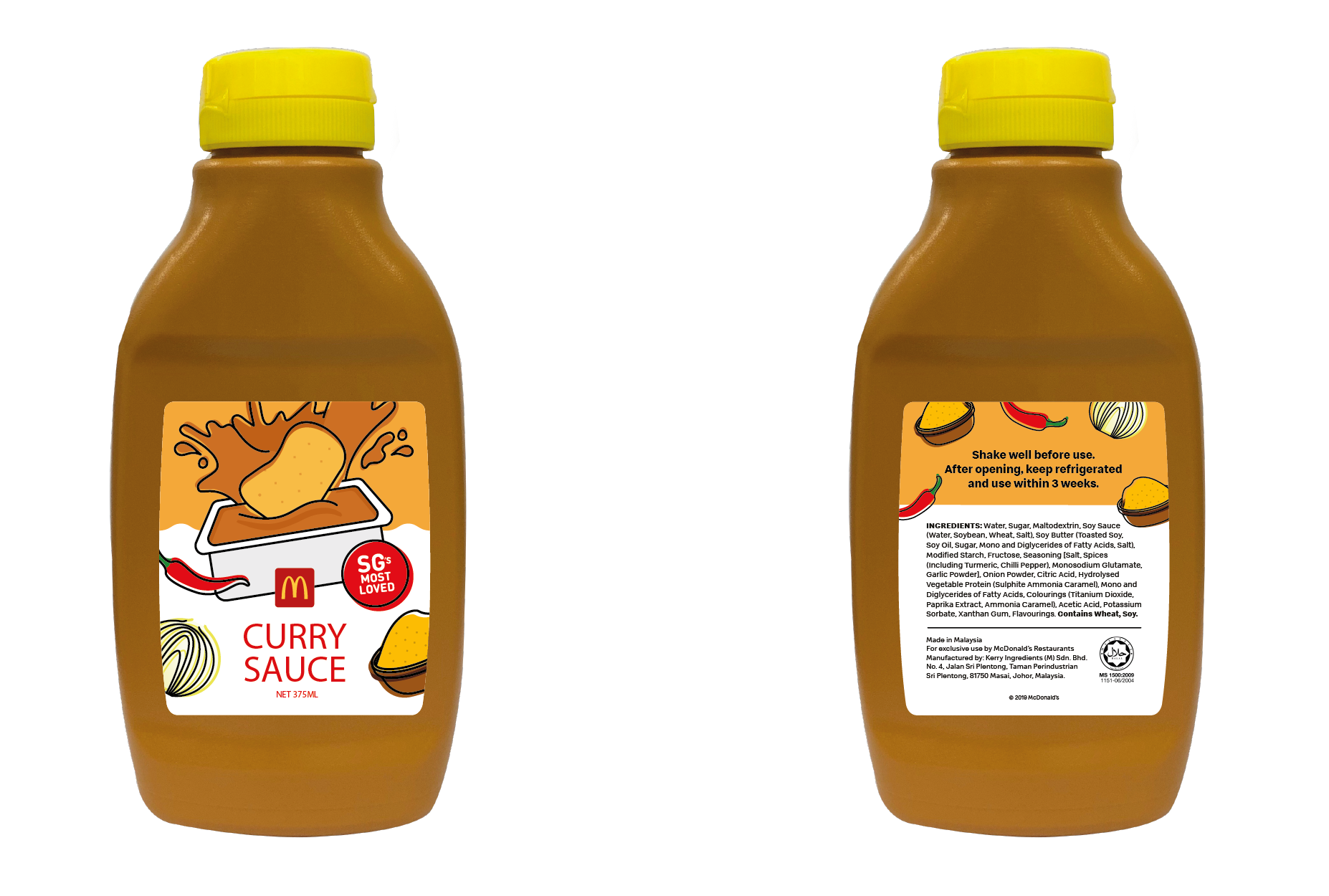 Satisfy your love for spice with McDonald's Curry Sauce Bottle and Spicy Chicken McNuggets - Alvinology