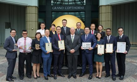 Grand Copthorne Waterfront Hotel Celebrates 20th Anniversary in Singapore with a Slew of Awards Wins