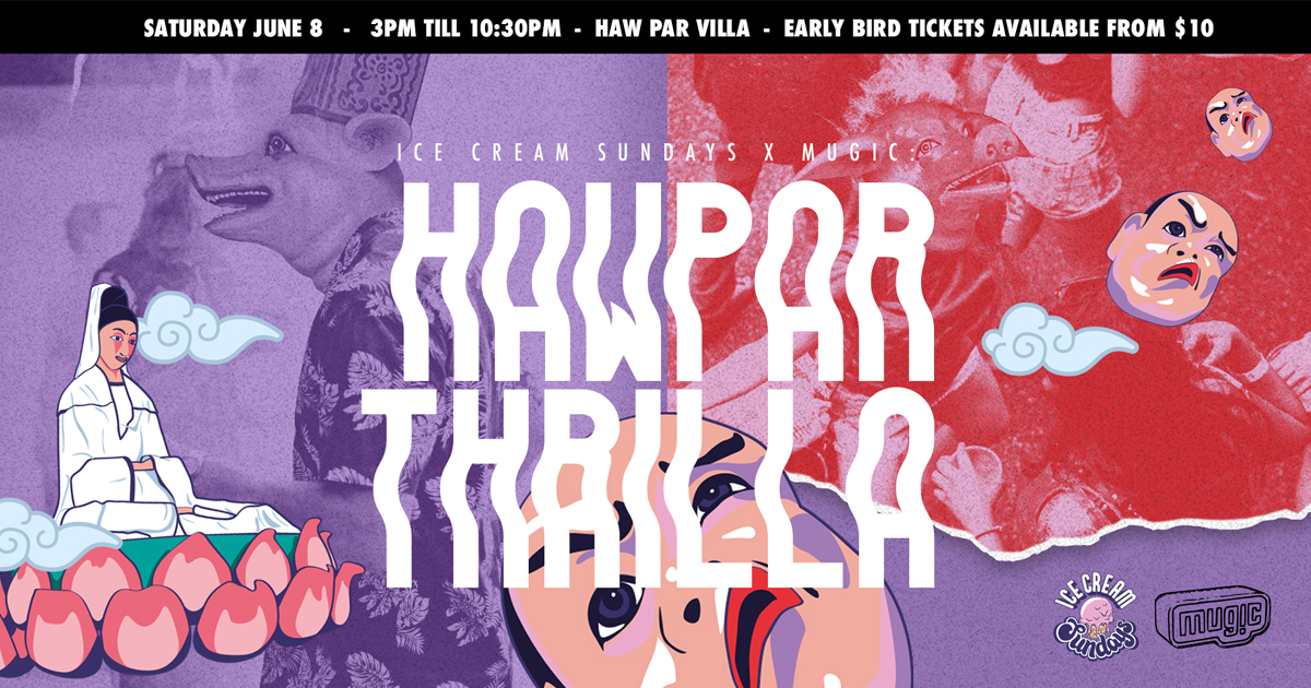 Groove to the music and get a free can of Kona Longboard Lager at Haw Par Villa this 8 June