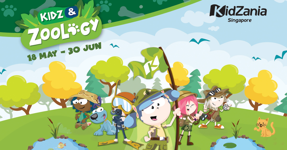 This new attraction at KidZania Singapore lets your child explore the Animal Kingdom - Alvinology