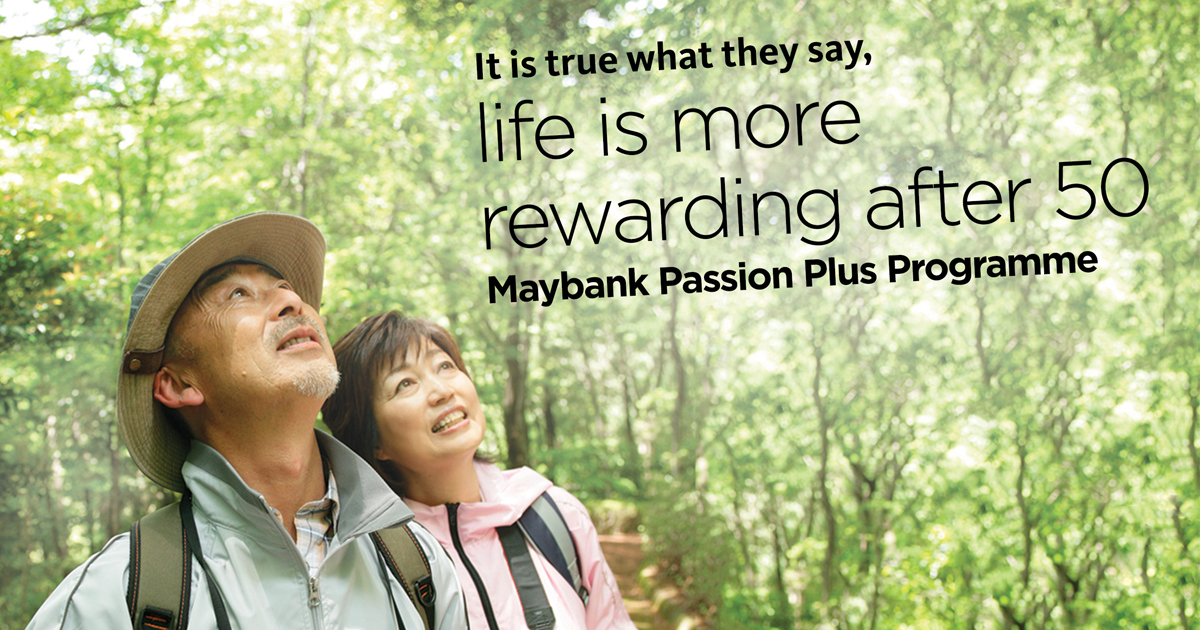 Maybank launches Maybank Passion Plus Programme for Singaporeans aged 50 and above - Alvinology