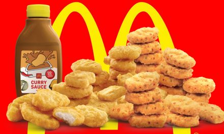 Satisfy your love for spice with McDonald's Curry Sauce Bottle and Spicy Chicken McNuggets