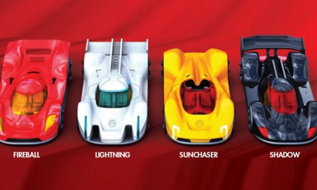 Shell Singapore launches its most advanced Salt Water Supercars – collect them all!
