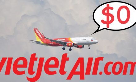 Millions of promotional S$0 tickets available now on Vietjet! Book now!