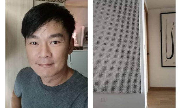 Thomas Ong has a new house and he says it's just a humble HDB