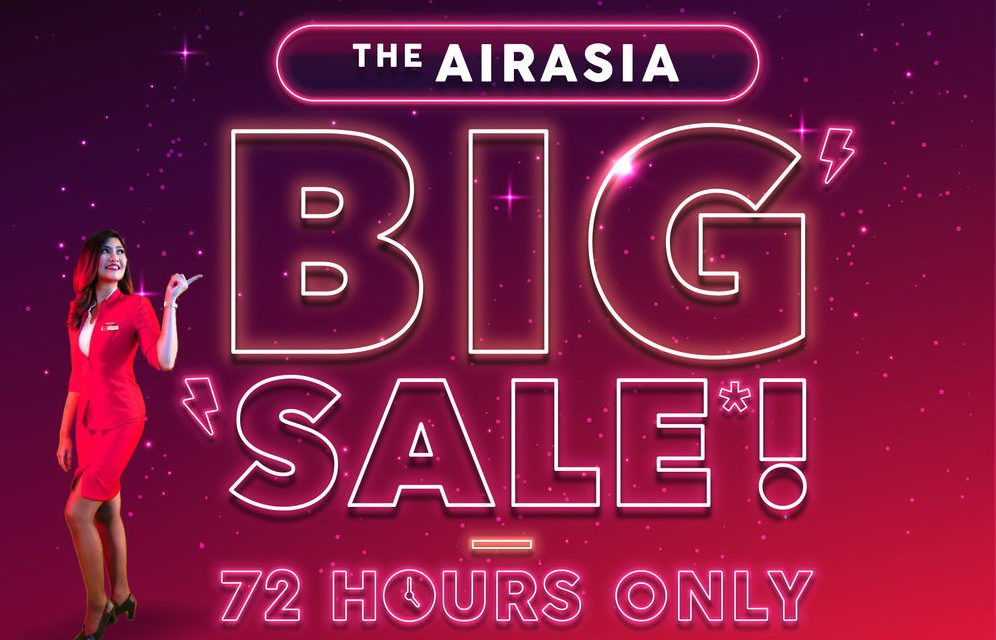 AirAsia's BIG Sale is on now with 5 million promo seats