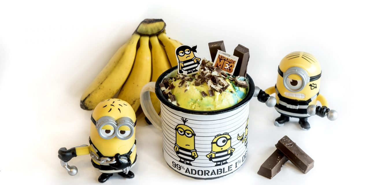 Cold Stone Creamery launches Minion Jailbreak-themed ice cream set and cakes