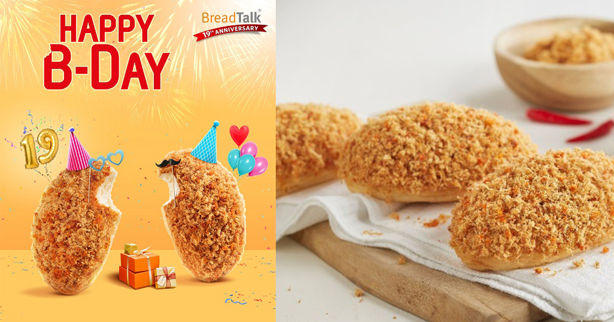 $1 Anniversary Special and more – New Flosss and deals bite at BreadTalk as it turns 19