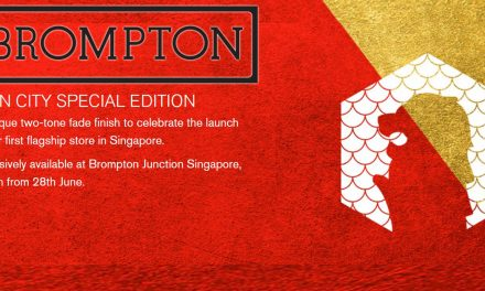 Win special edition prizes at Brompton Bicycle's new flagship store opening in Funan this 28 June 2019