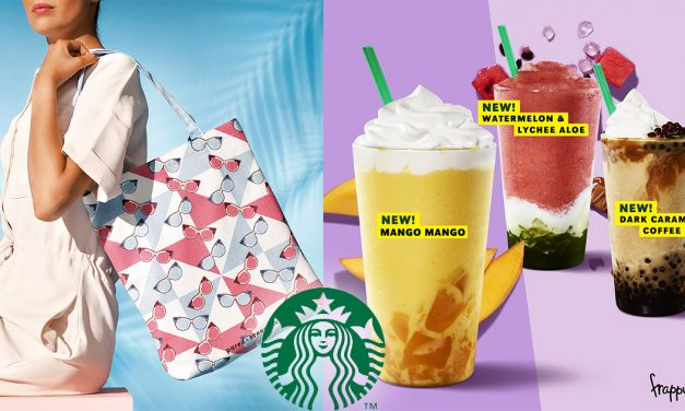 New sun-soaked merchandise, frappe, and returning favourite at Starbucks to blend in with the summer heat