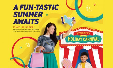 Have a blast this June with 1-for-1 deals, attractive rewards and an outdoor Holiday Carnival at VivoCity
