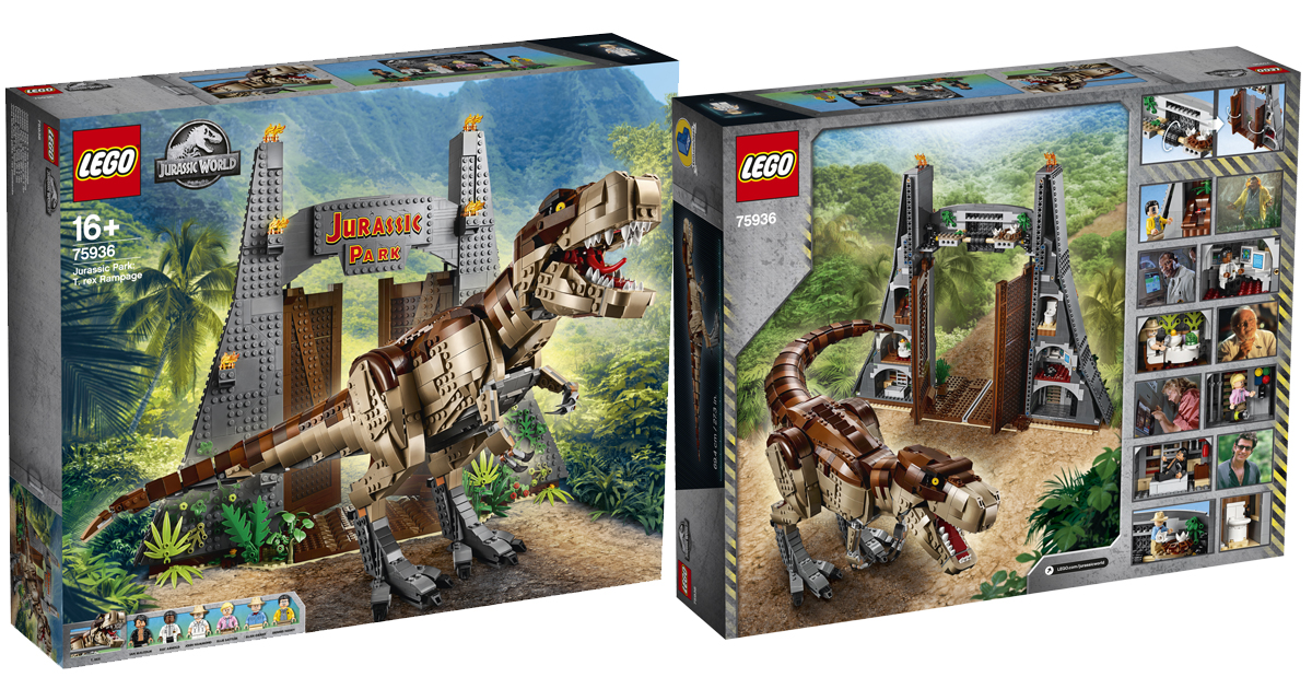 LEGO to launch the biggest LEGO Jurassic World T. Rex Set in Singapore this 6 July - Alvinology