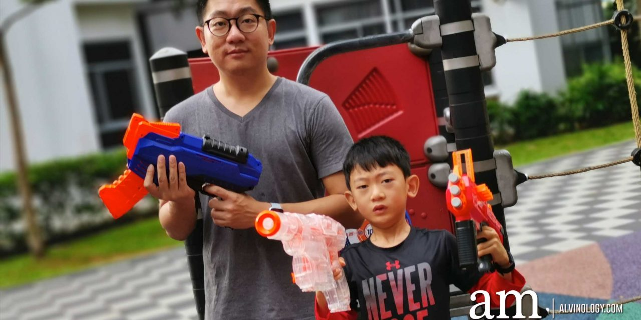 NERF Blasters for Father-son Bonding during the June School Holiday