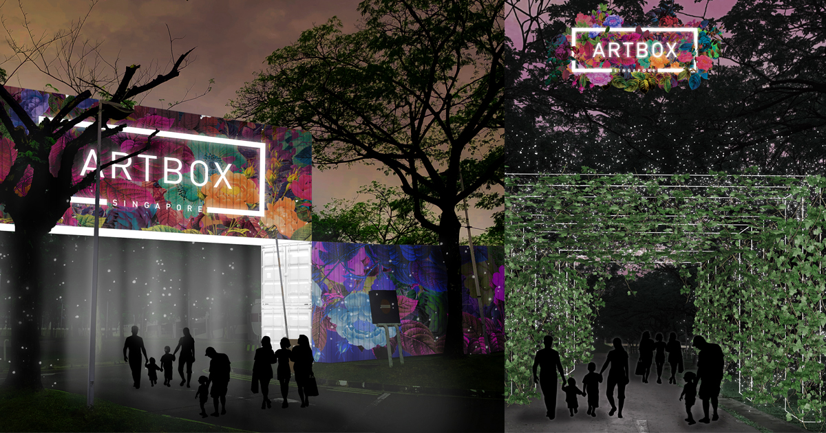 Artbox Singapore 2019 – admission is free to this urban art container event, the largest there is - Alvinology