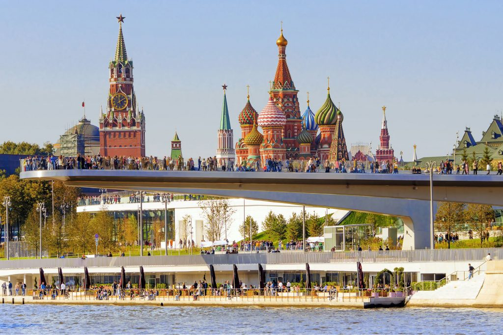 You wouldn't believe what Moscow looks today - introducing the New Moscow: a merger of the old and new world - Alvinology