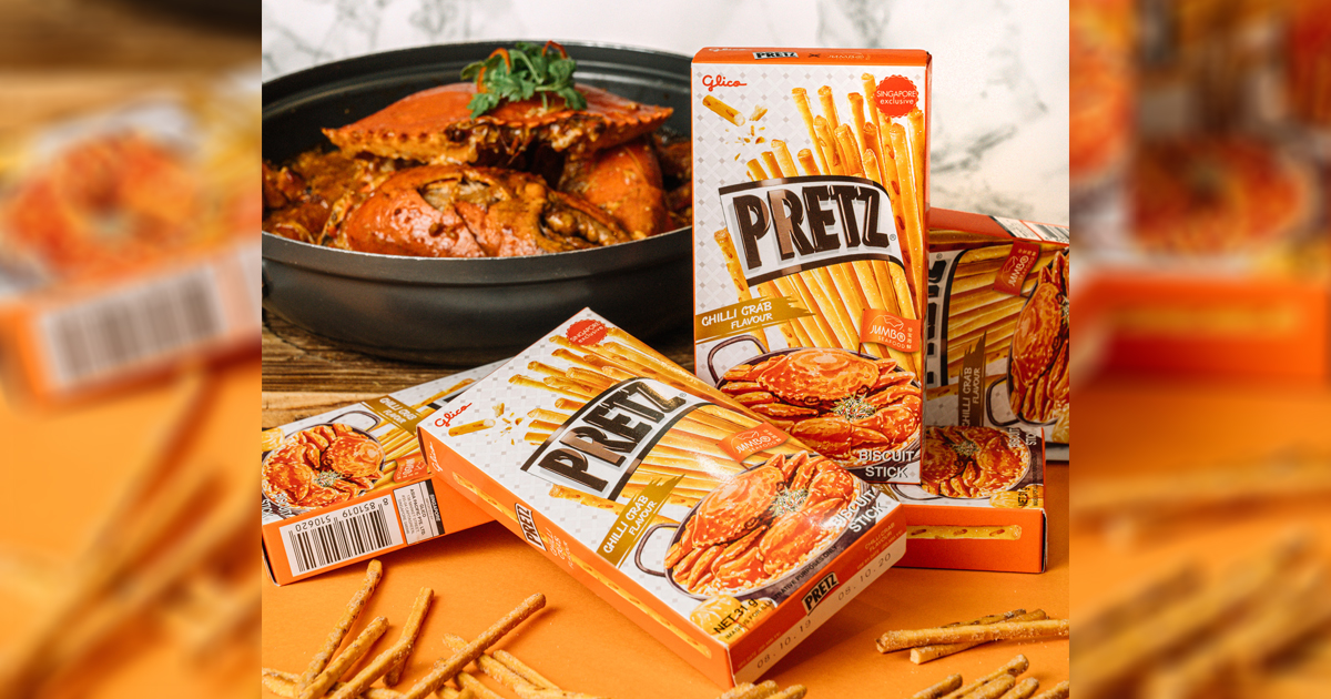 [GIVEAWAY] Watch out for Pretz x JUMBO Seafood new Chilli Crab sticks and Social Media Giveaway, and win S$100 worth of dining vouchers - Alvinology