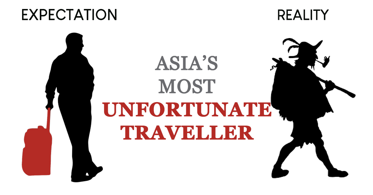 Share your most unfortunate travel experience and win a trip to Japan – here's how - Alvinology