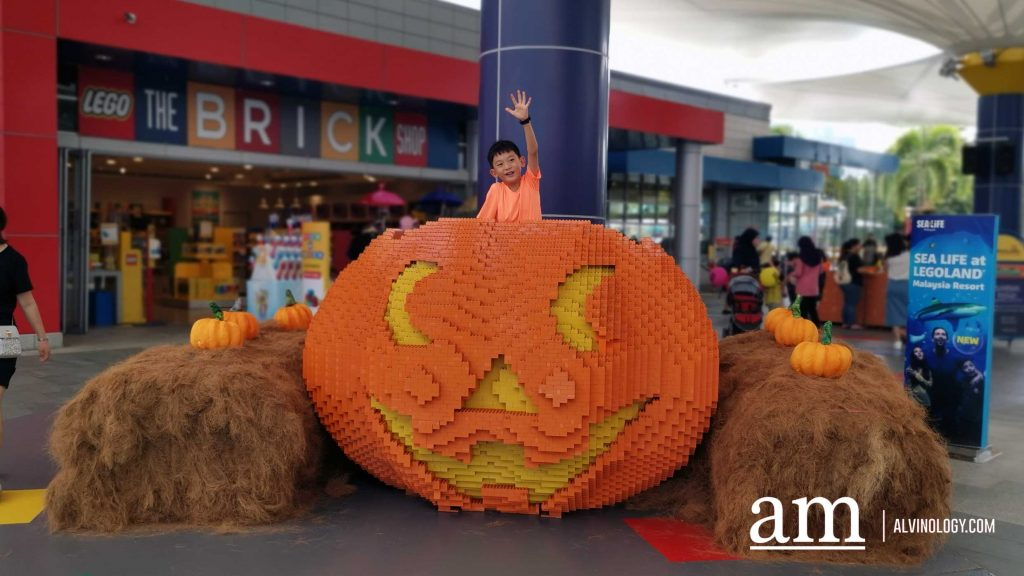 Halloween BRICK-or-TREAT 2019 at LEGOLAND Malaysia - Alvinology
