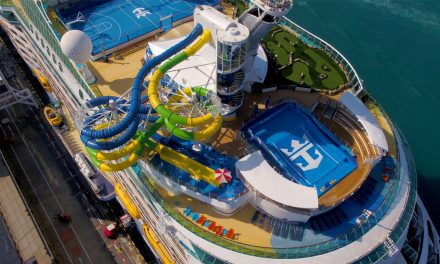 Voyager of the Seas debuts new Perfect Storm waterslides and Battle for Planet Z laser tag onboard