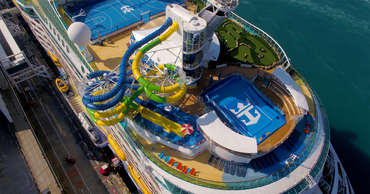 Voyager of the Seas debuts new Perfect Storm waterslides and Battle for Planet Z laser tag onboard - Alvinology