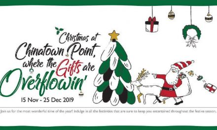 Do your Christmas shopping at Chinatown Point and receive rewards