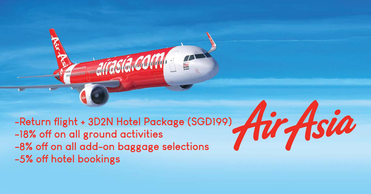 Fly for as low as S$8! AirAsia runs 18th Anniversary promotion from today till 1 December – don't miss it! - Alvinology
