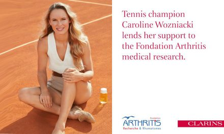 Danish Tennis Champion Caroline Wozniacki is the new Ambassador for La Fondation Arthritis
