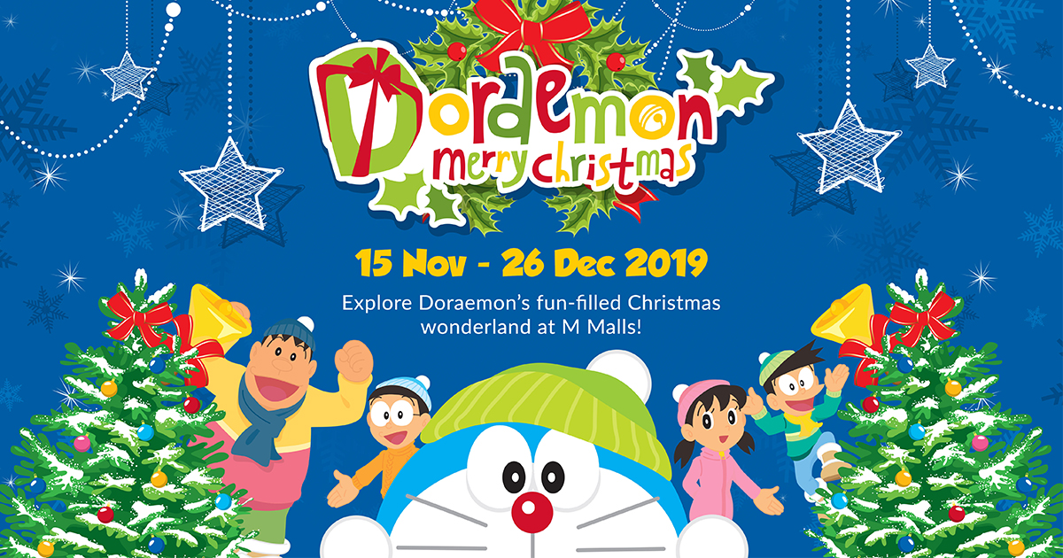 [PROMO INSIDE] Doraemon pulls out exciting Christmas festivities from its Infinite Pocket at M Malls