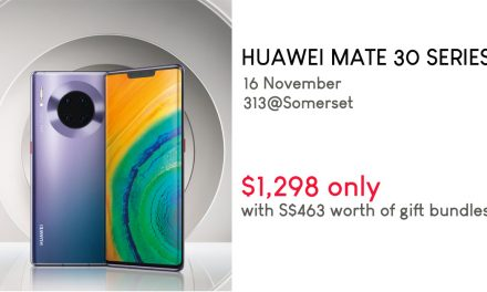 The HUAWEI Mate 30 Series will go on SALE this 16 November – you'll get S$463 worth of gift bundle if you buy on that day