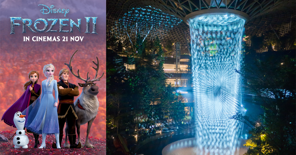 """Catch Frozen 2 as they transform Changi Airport into a Frozen Wonderland – check out these """"cool"""" collectables - Alvinology"""