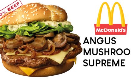 Your favourite 100% premium beef – Angus Mushroom Supreme is now in McDonald's for only $6.95!