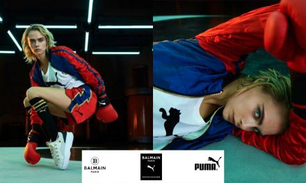 PUMA, BALMAIN and Cara Delevingne collaborate to bring you this boxing-inspired 35-piece collection