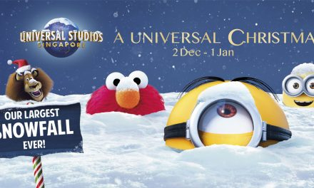 Experience the Largest-Ever Snowfall, Glowing Oceans, and more this Christmas at Resorts World Sentosa!
