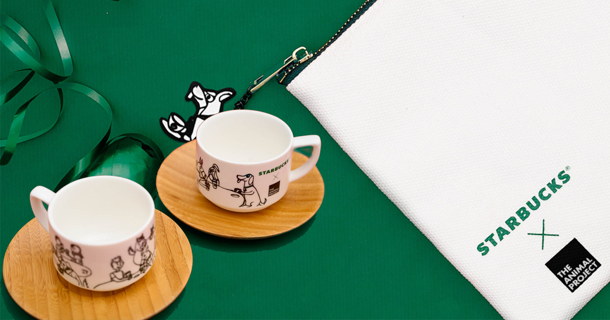 Starbucks x The Animal Project – meaningful gifts you can find at Starbucks this festive season