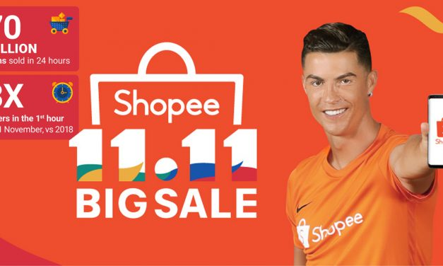"Shopee concludes the 11.11 Big Sale with 70 Million items sold – ""11.11 THANK YOU SALE"" is now rolling!"