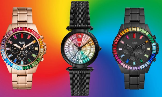 These Limited-edition Rainbow Watches by Fossil will bring vibrant colours to any outfit this festive season for only S$369 apiece