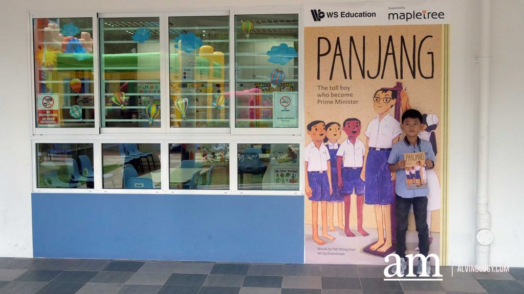 ESM Goh Chok Tong launches a Children Book - Panjang: The Tall Boy Who Became Prime Minister - Alvinology